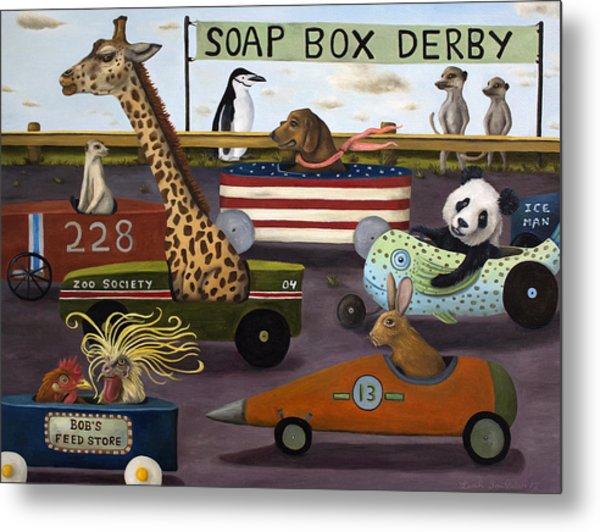 Soap Box Derby Metal Print
