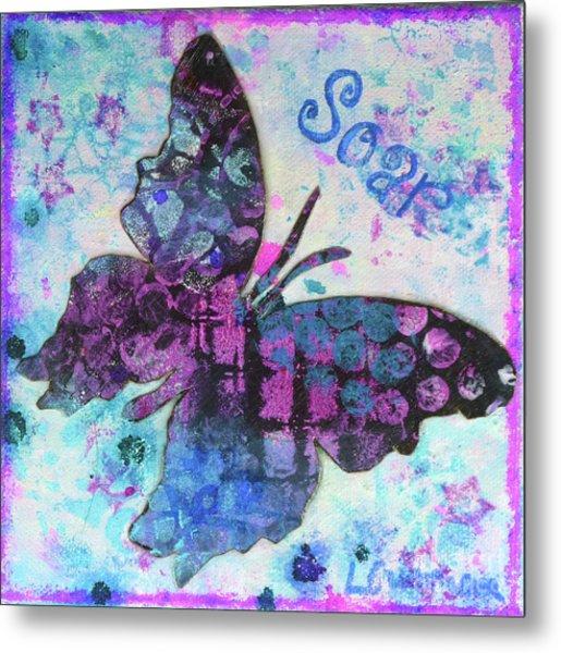 Soar Butterfly Metal Print
