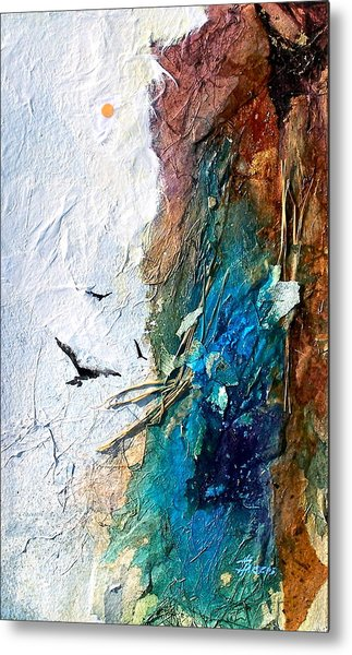 Metal Print featuring the painting Soaring by Helen Harris