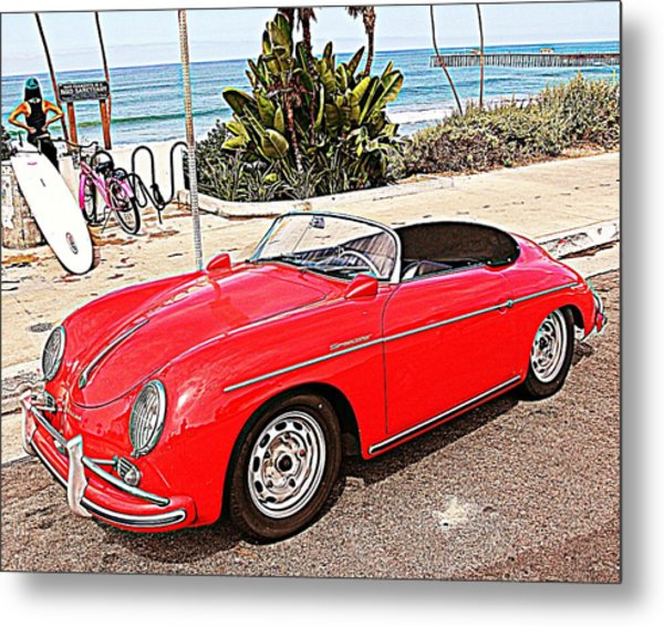 Socal Speedster Metal Print