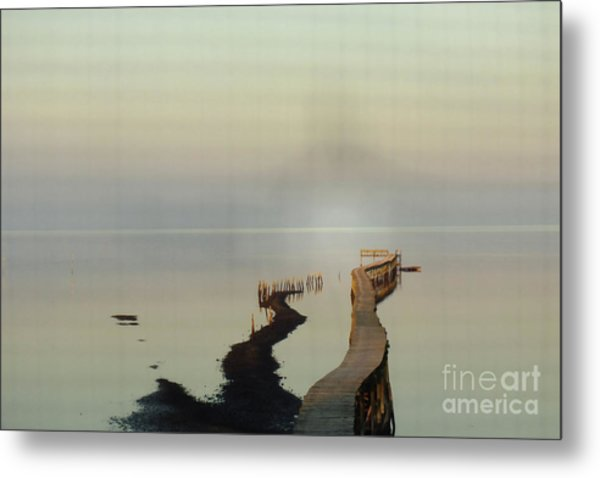 Soft  Walk Metal Print