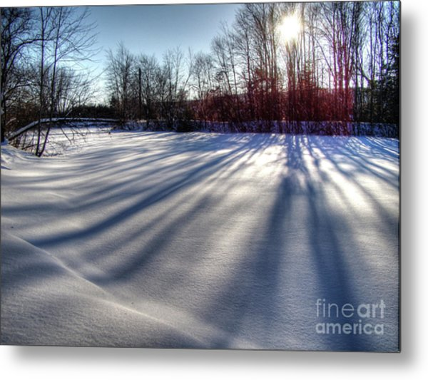 Soft Shadows Metal Print
