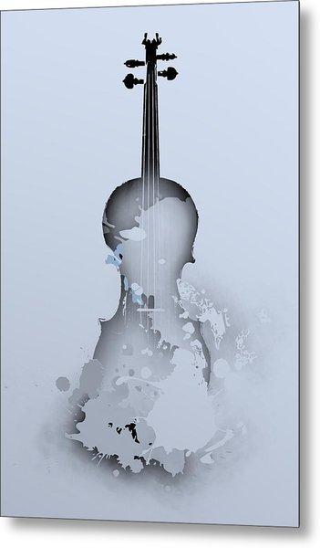 Metal Print featuring the digital art Soft Violin by Alberto RuiZ