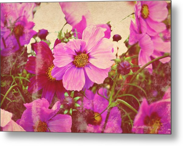 Softly Blowing Two Metal Print by Cathie Tyler