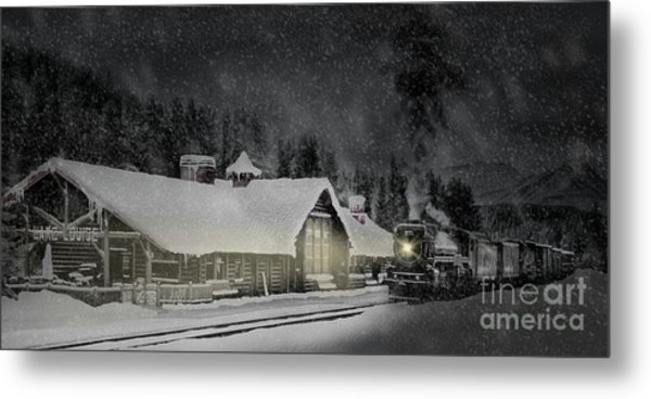 Solace From The Storm Metal Print