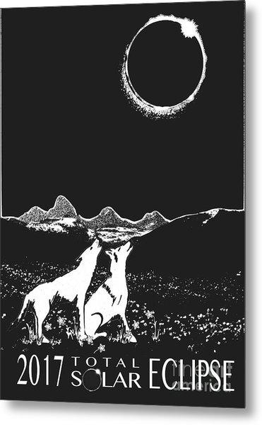 Solar Eclipse Metal Print