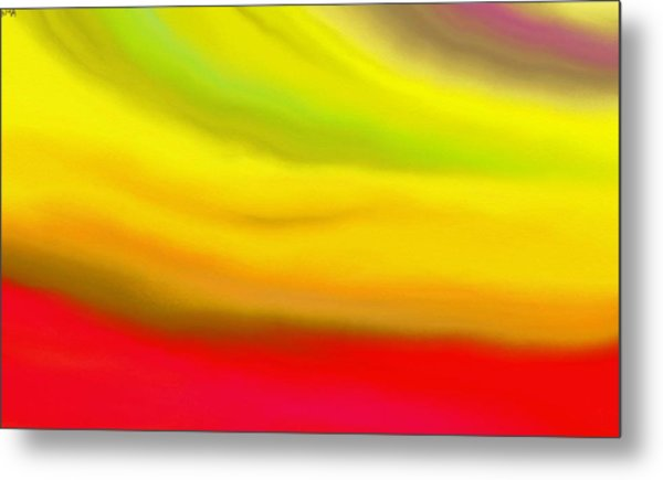 Solar Flare Metal Print by Angie Armstrong