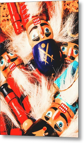 Soldier Dolls From A Tradition Past  Metal Print