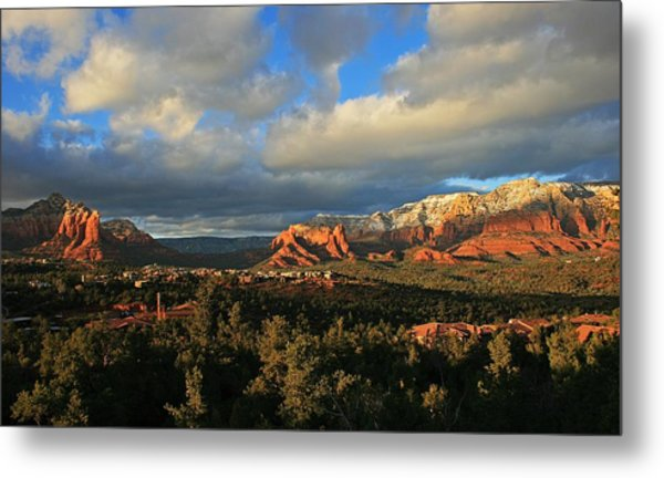 Soldier Pass Sunset Metal Print