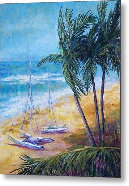 Soliman Bay Metal Print by Candy Mayer