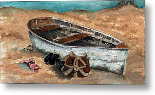 Solitary Metal Print by Penny Everhart