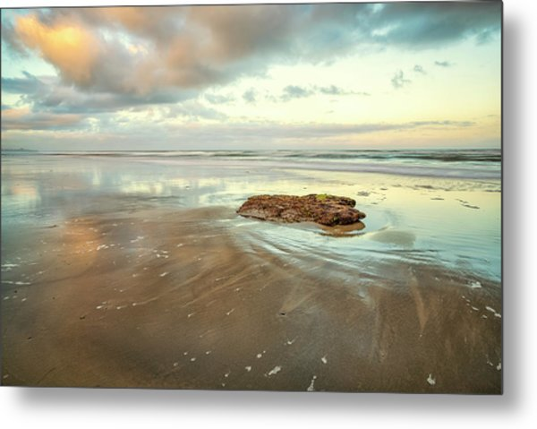 Solitary Rock Metal Print