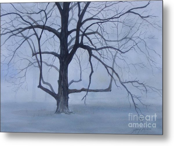 Solitude  Sold Metal Print