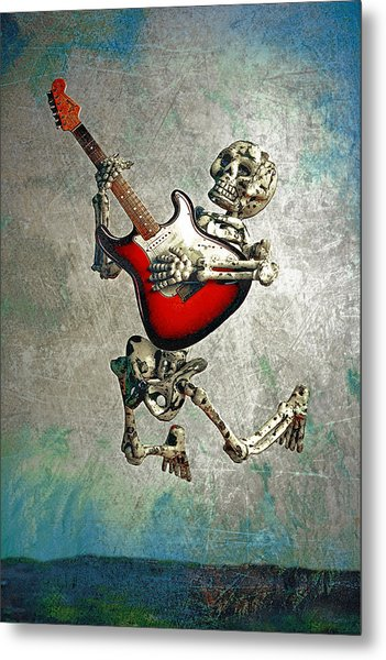 Solo Flight Metal Print