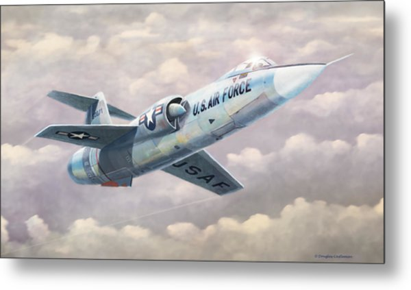 Solo Starfighter Metal Print