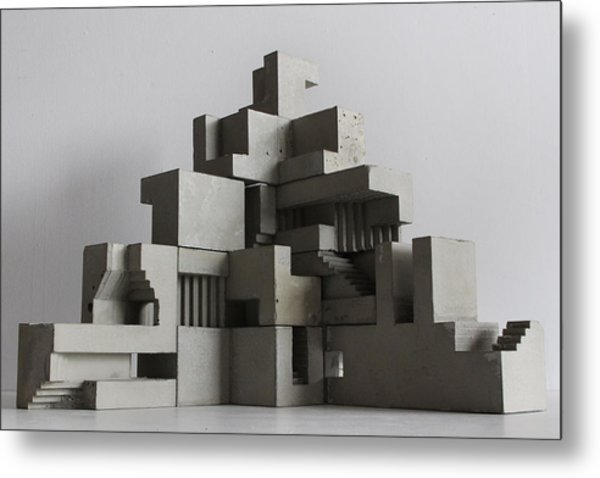 Soma Structure 6 Metal Print by David Umemoto