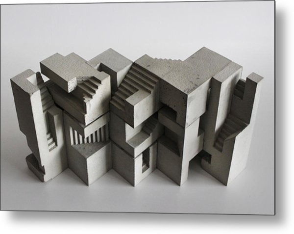 Soma Structure 8 Metal Print by David Umemoto