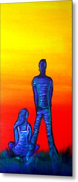 Someone To Watch Over Me Metal Print by Brenda Higginson