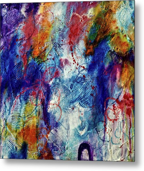 Metal Print featuring the painting Something Wild by Tracy Bonin