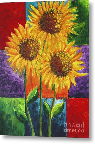 Sonflowers I Metal Print
