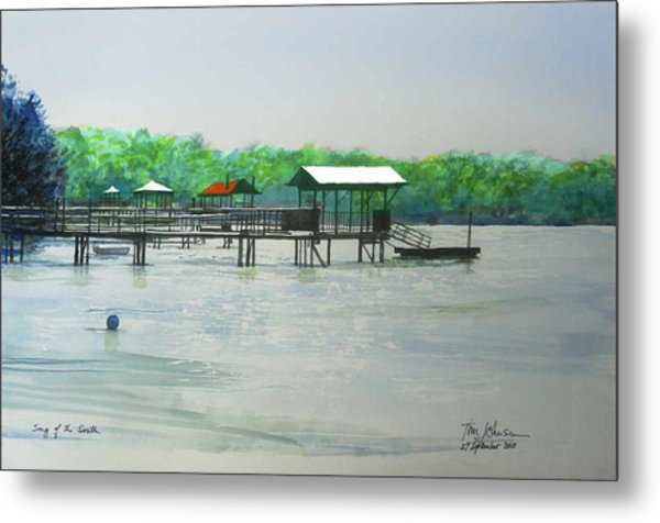 Song Of The South Metal Print by Tim Johnson
