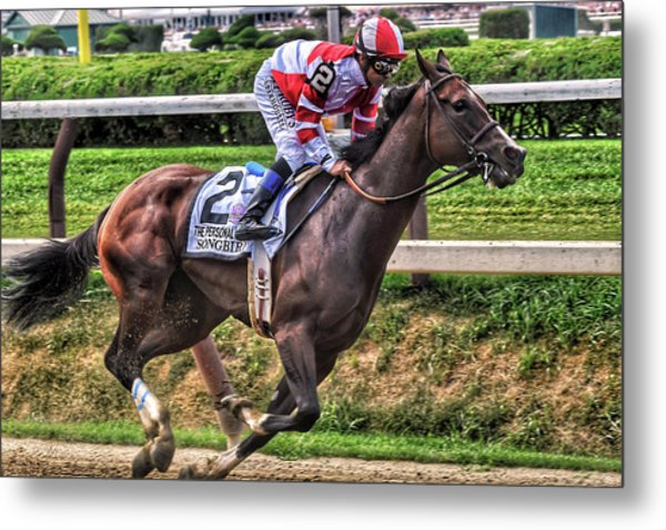 Songbird With Mike Smith Saratoga August 2017 Metal Print