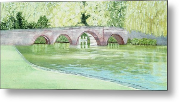 Sonning Bridge  Metal Print