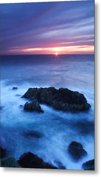 Sonoma Sunset Metal Print by Eric Foltz