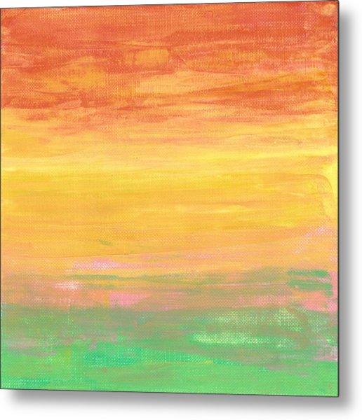 Sorbet Sunset Metal Print