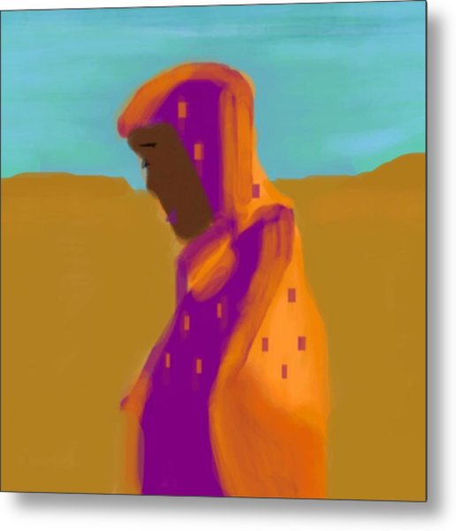 Sorrowful Mother Of The Past And Present Metal Print
