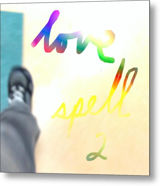 Sort D Amour Deux Love Spell Two Metal Print