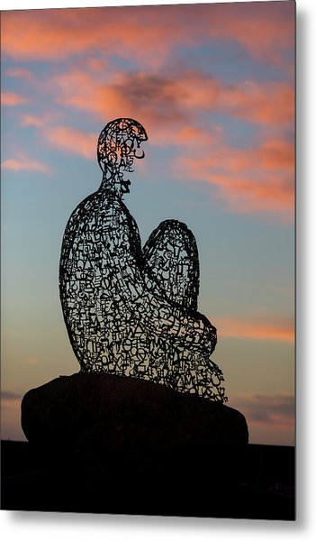 Soul At Sunset Metal Print