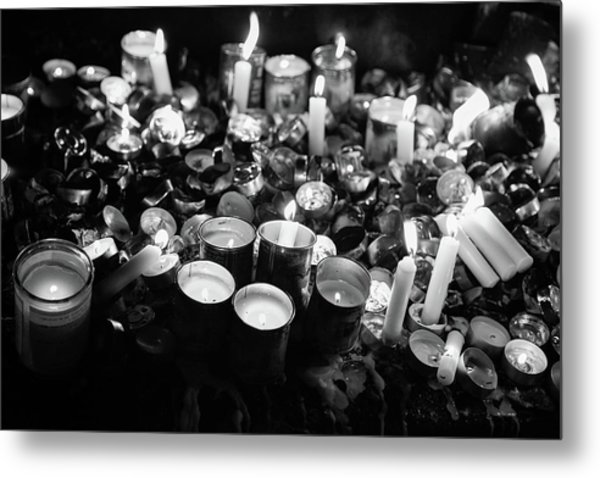 Soul Candles II Metal Print