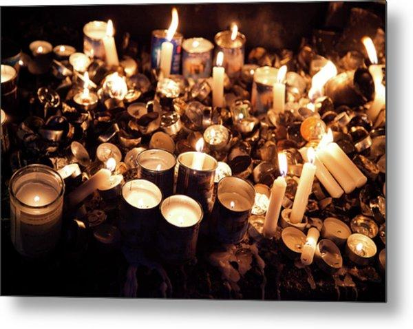 Soul Candles Metal Print