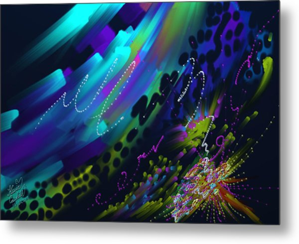 Soul So Blue Metal Print