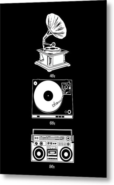 Sound Evolution 2 Metal Print