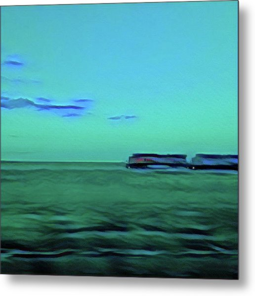 Sound Of A Train In The Distance Metal Print