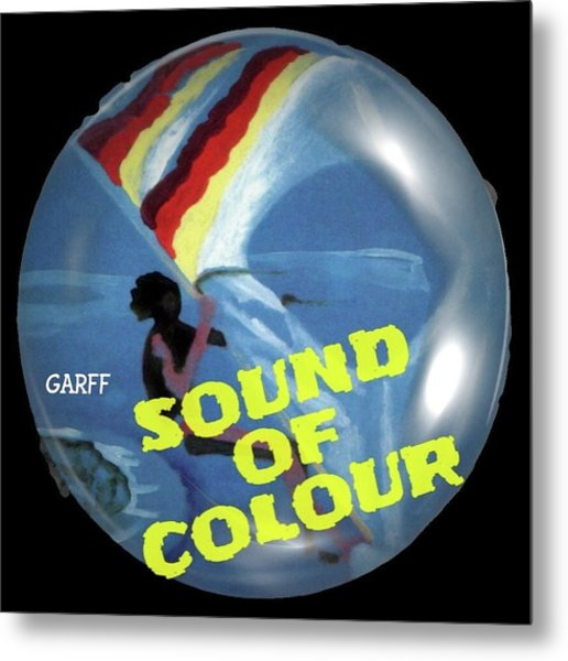 Sound Of Colour Metal Print
