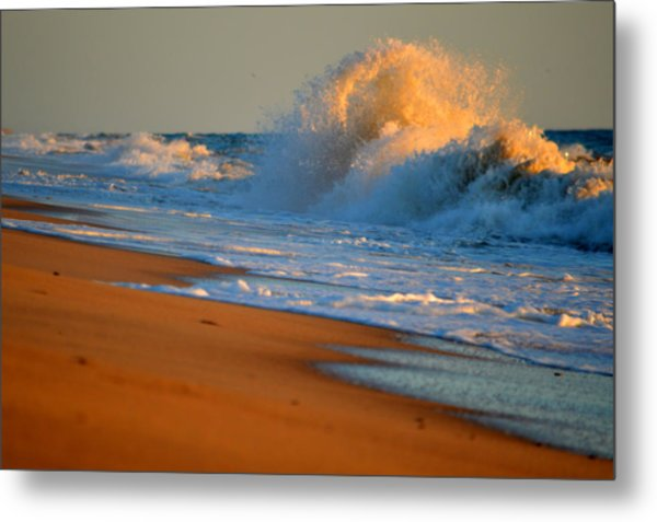 Sound Of The Surf Metal Print