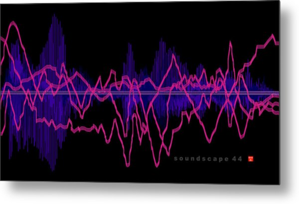 Soundscape 44 Metal Print