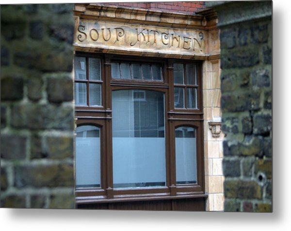 Soups Up Metal Print by Jez C Self