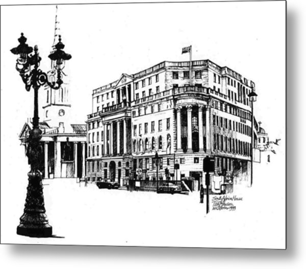 South Africa House Metal Print
