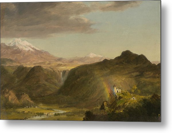 South American Landscape Metal Print