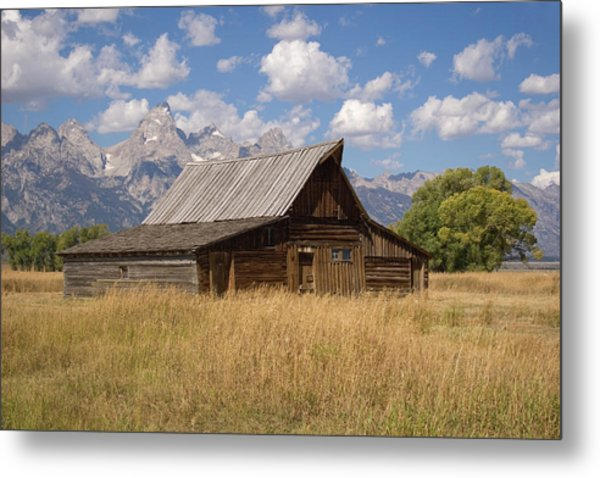 South Barn Metal Print