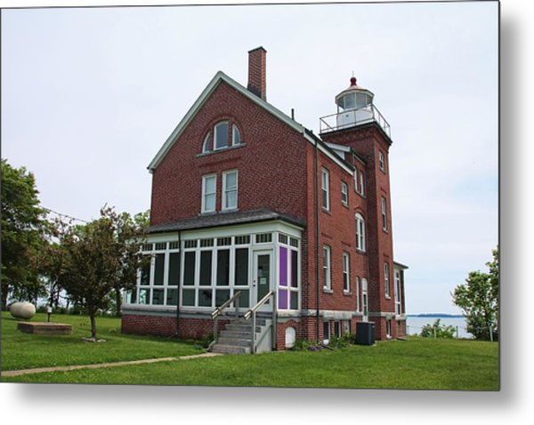 South Bass Island Lighthouse- Horizontal Metal Print