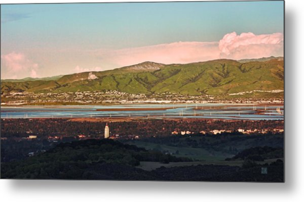 South Bay With Stanford Metal Print