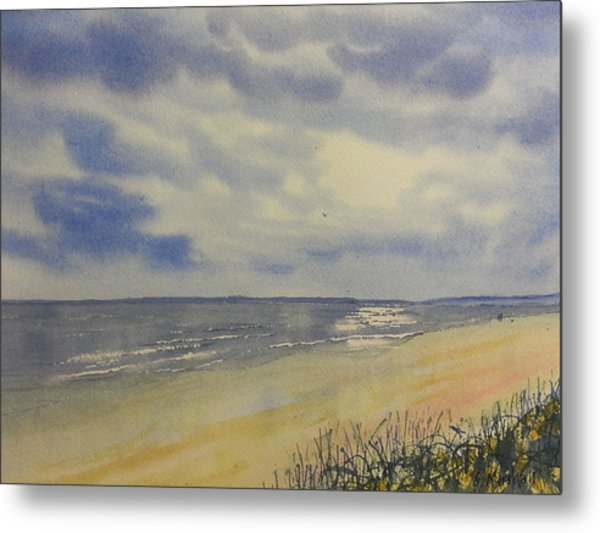 South Beach From The Dunes Metal Print