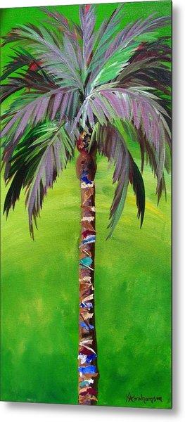 South Beach Palm IIi Metal Print