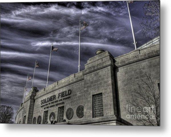 South End Soldier Field Metal Print
