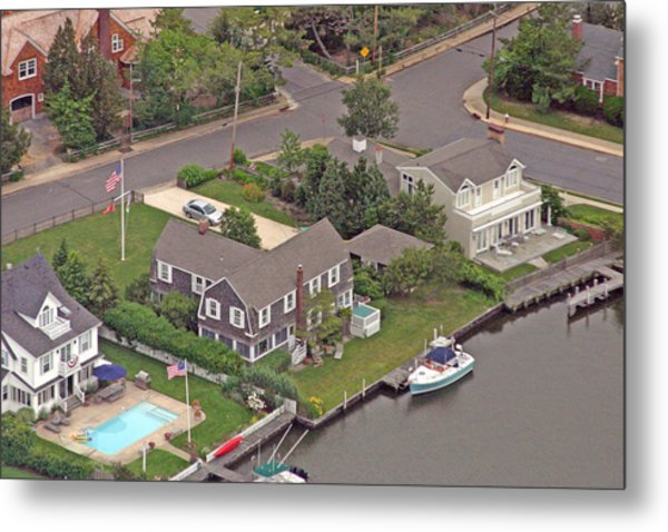 South Lagoon House Mantoloking New Jersey Metal Print